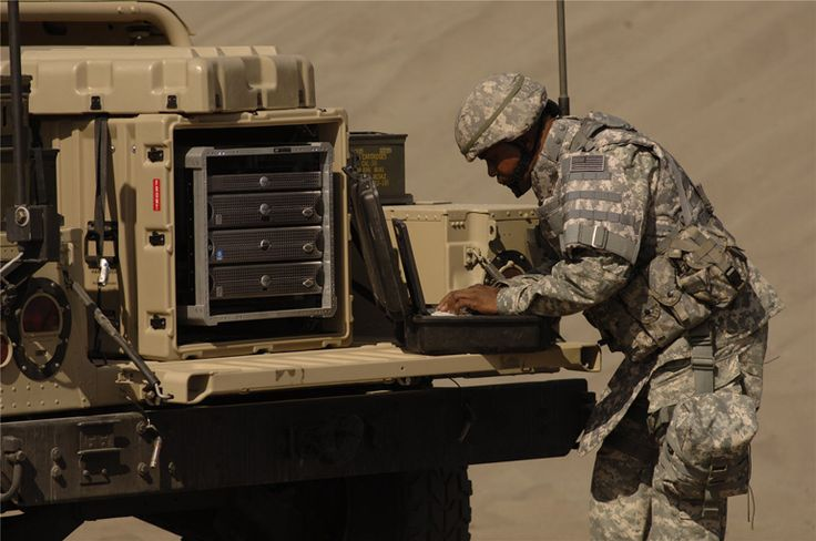 The portable computers and rackmounts are designed to work under different conditions specially in fieldworks of military & industrial units. #technology #rackmounts #military