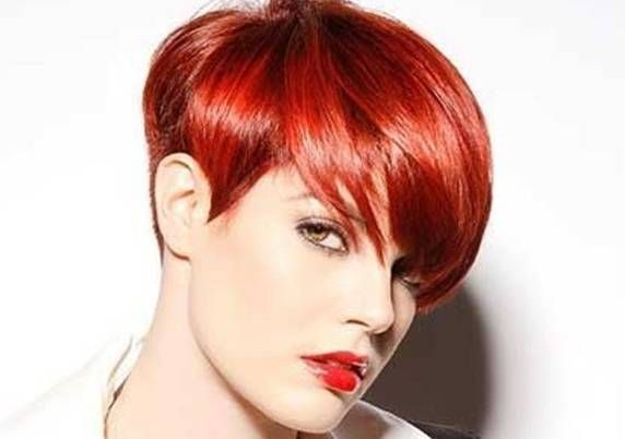 pixie haircuts in red hair - Google Search