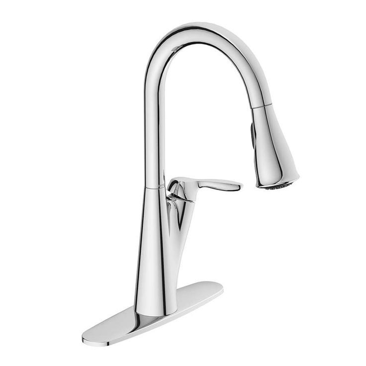 Shop Moen  87499 Harlon Chrome 1-Handle Pull-Down Kitchen Faucet at Lowe's Canada. Find our selection of kitchen faucets at the lowest price guaranteed with price match + 10% off.