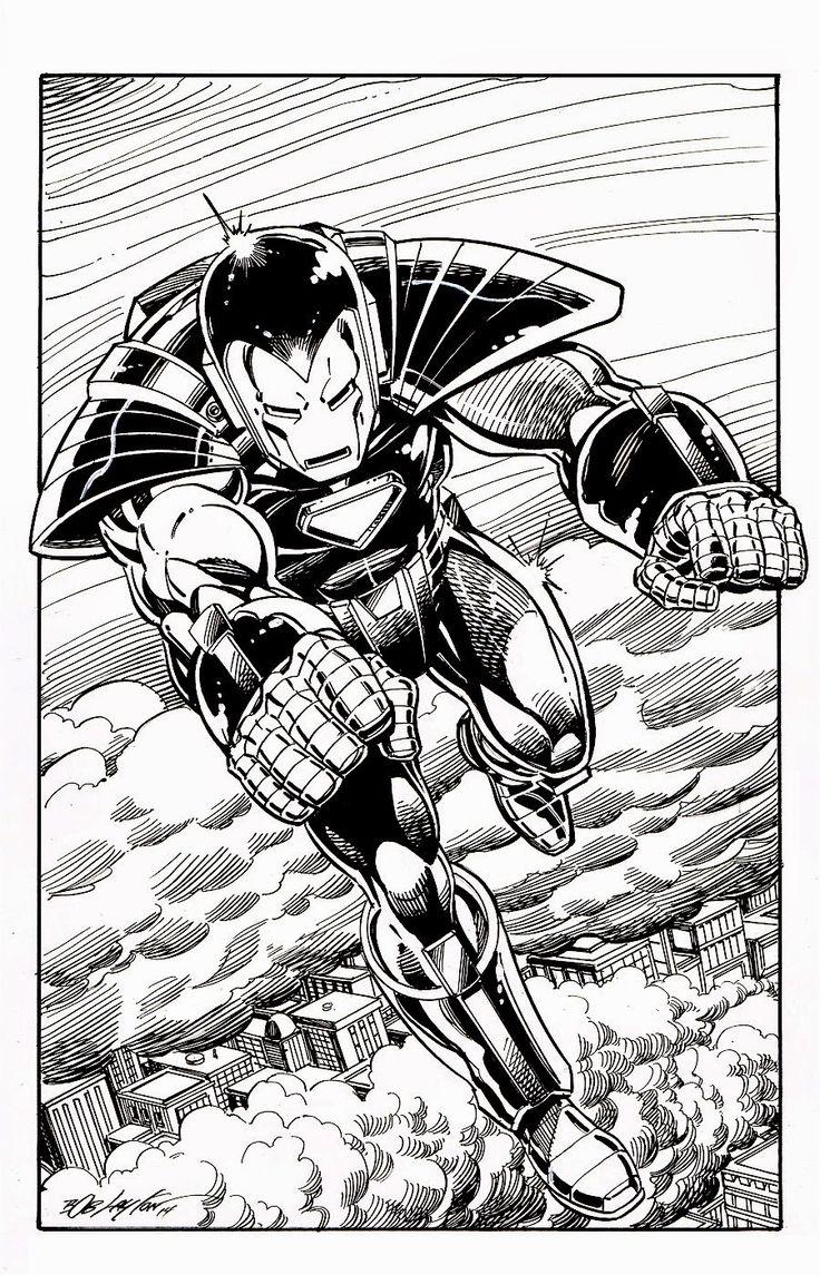 Marvel ics of the 1980s iron man silver centurion by bob layton