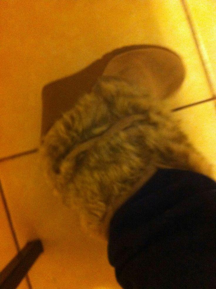 Las botas peludas de Joi