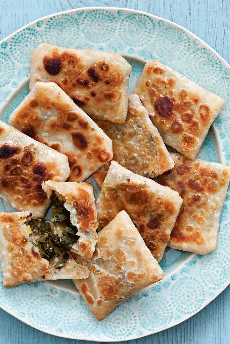 Wild greens pies by Rebecca Seal from The Islands of Greece | Cooked