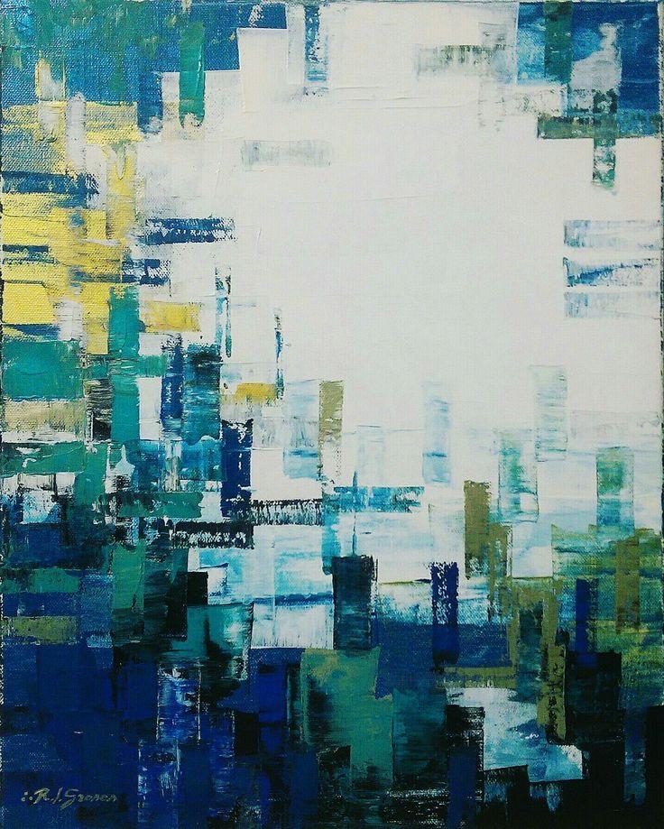 #contemporaryart #loft #painting #abstractart #artoftheday #ramongrosos #collection