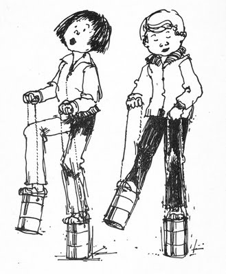 ramona quimby and her friend howie kemp from the beezus and ramona books by beverly cleary