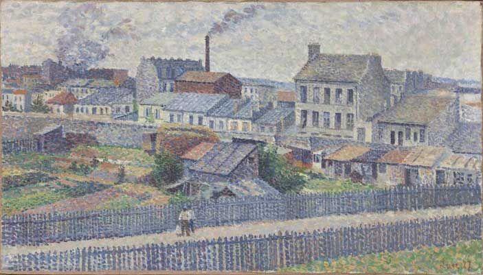 Maximilien Luce - The surroundings of  Montmartre