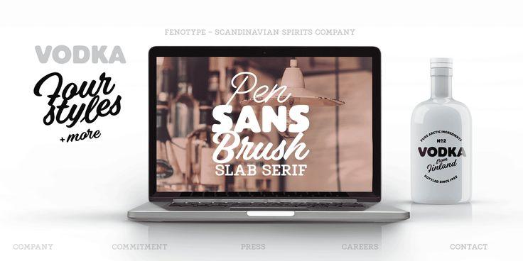 Vodka™ - Webfont & Desktop font « MyFonts