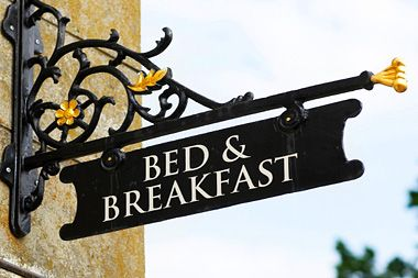 What if I have recently been day dreaming of running a bed and breakfast? Would you come?