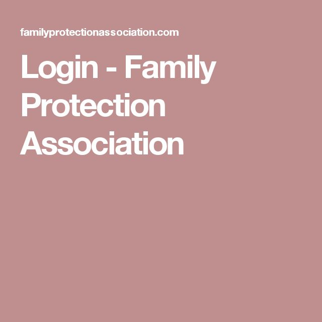Login - Family Protection Association