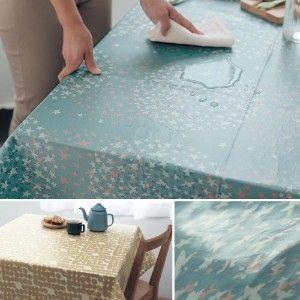 おすすめ テーブルクロス 撥水 通販のベルメゾンネット 拭けるテーブルクロス