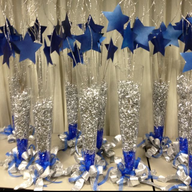 Blue Party Decorating Ideas best 25+ star centerpieces ideas on pinterest | star theme party