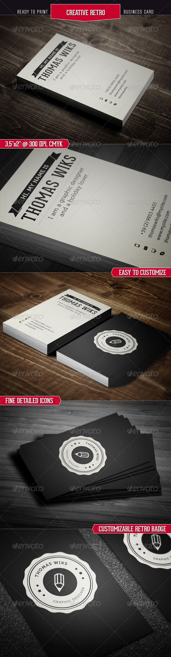 Best Business Card Template Images On Pinterest Business - Easy business card template