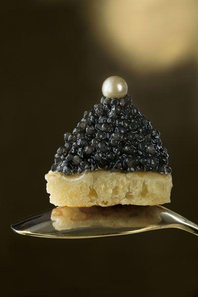 Caviar perlé - Copyright © Caroline Martin