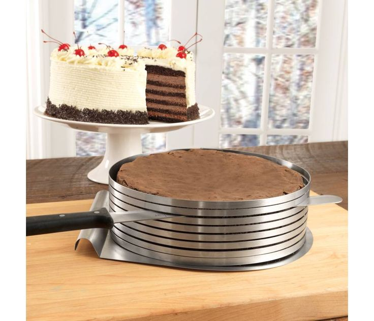 Shop Frieling Layer Cake Slicing Kit, 3 piece at CHEFS.  Love, want!