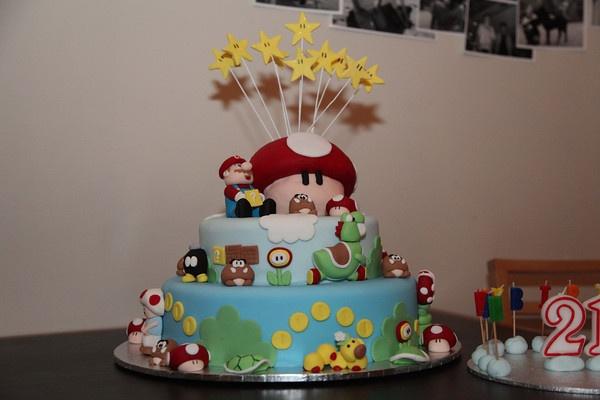 It'sa me, Mario.Mario Cake, Amazing Mario