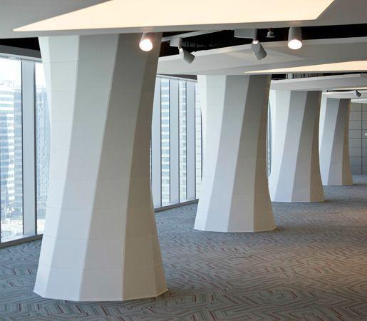Popular Interior Interior Column Design Ideas With: Column Wrap- Seeyond Architectural Solutions
