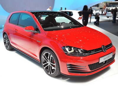 Volkswagen Golf 7 GTD shown