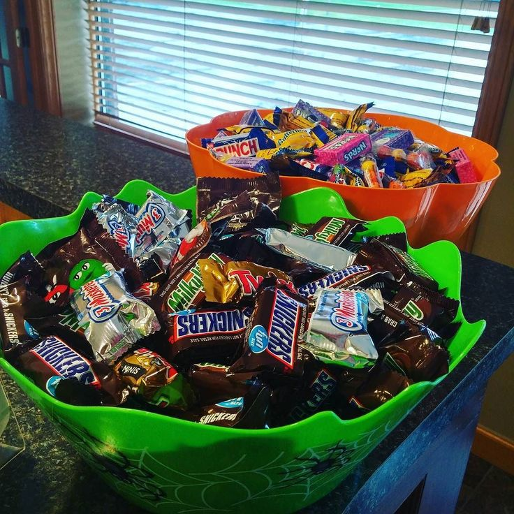 Halloween Candy for kids at the Pumpkin Palooza event