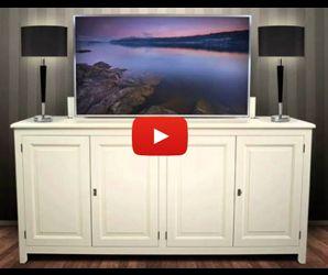 HIDDEN-TV-lift-meubel-youtube-link  4 Home  Pinterest