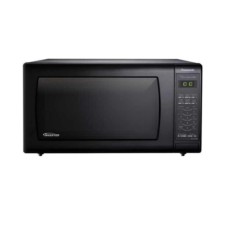 Panasonic Microwave Oven with Inverter Technology, Black (Glass)