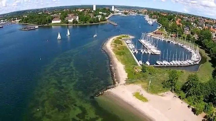 HeliFly vom Strandbad Neustadt in Holstein - YouTube
