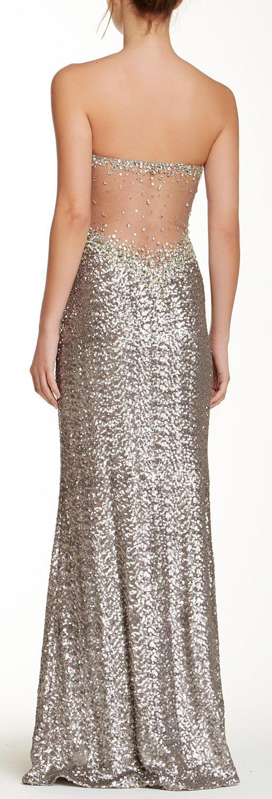 Glitter gown