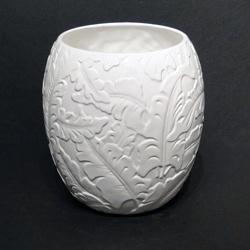 @Overstock - Color options: White, sky blue    Set includes: Wastebasket    Pattern: Tropical        http://www.overstock.com/Bedding-Bath/Baltic-Linen-Savannah-Ceramic-Wastebasket/6310779/product.html?CID=214117 CAD              48.49