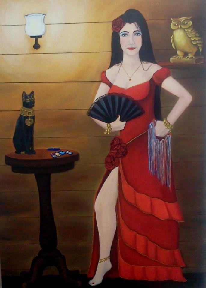Cigana Rosa Vermelha
