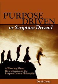 "Free e-book: Examines the influential ""seeker sensitive"" church growth philosophy promoted by Rick Warren of Saddleback Church. It contains a review of Warren's books The Purpose Driven Life and The Purpose Driven Church and a firsthand report of a visit to Saddleback Church."
