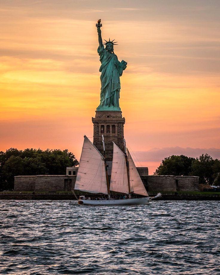 традиции красивые картинки статуя свободы тому дополнив блюдо