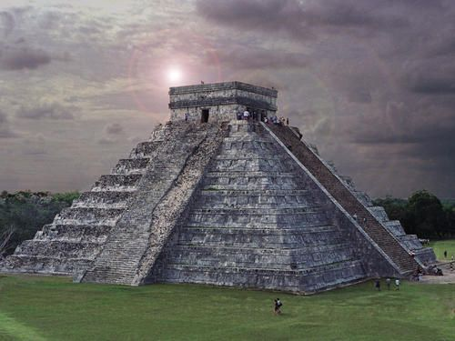 Chichen Itza - Carribbean - Cancun, Mexico