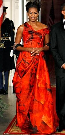 Michelle Obama looks beautiful!