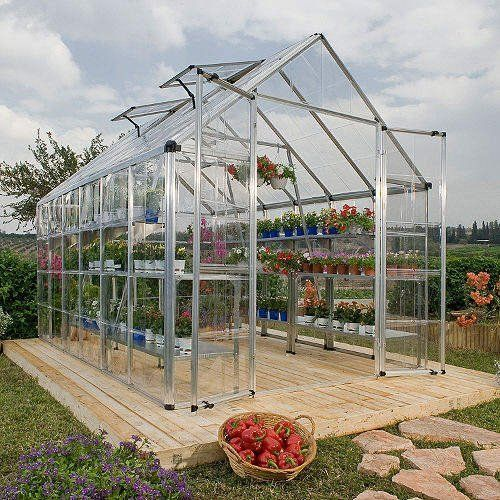 Snap & Grow Silver Greenhouse - 8' by 12' . $1398.00