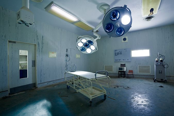Abandoned Kempton Park Hospital, South Africa
