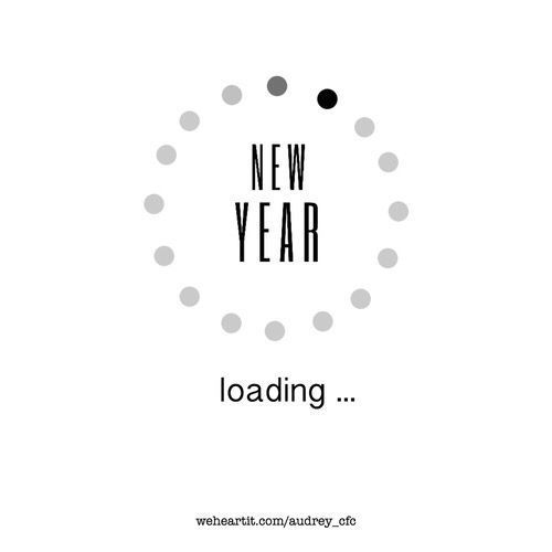 new year loading silvester happy new year