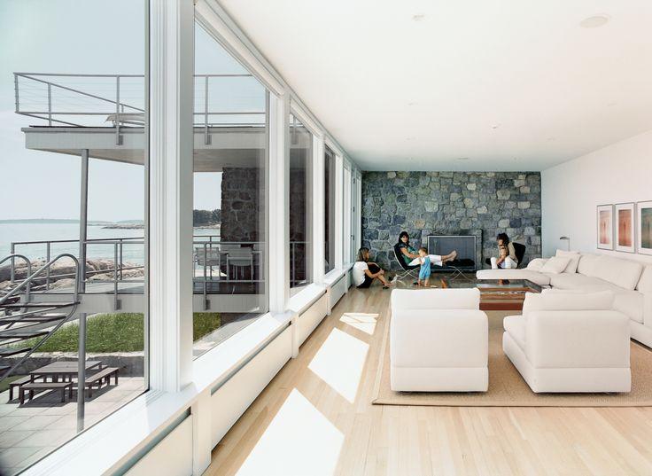 Casa Hagerty | Vorbind Despre | O creație superbă a lui Walter Gropius, într-un stil minimalist și foarte modern, sursă bogată de inspirație pentru arhitectura modernă.