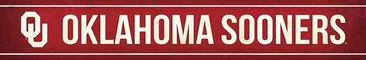 Oklahoma Sooners Street Banner $19.99