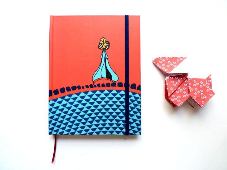 libreta + origami