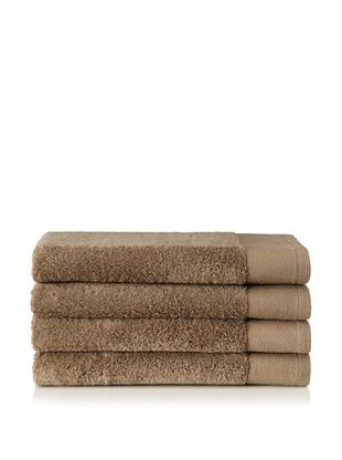 Schlossberg Set of 4 Interio Hand Towels, Sand