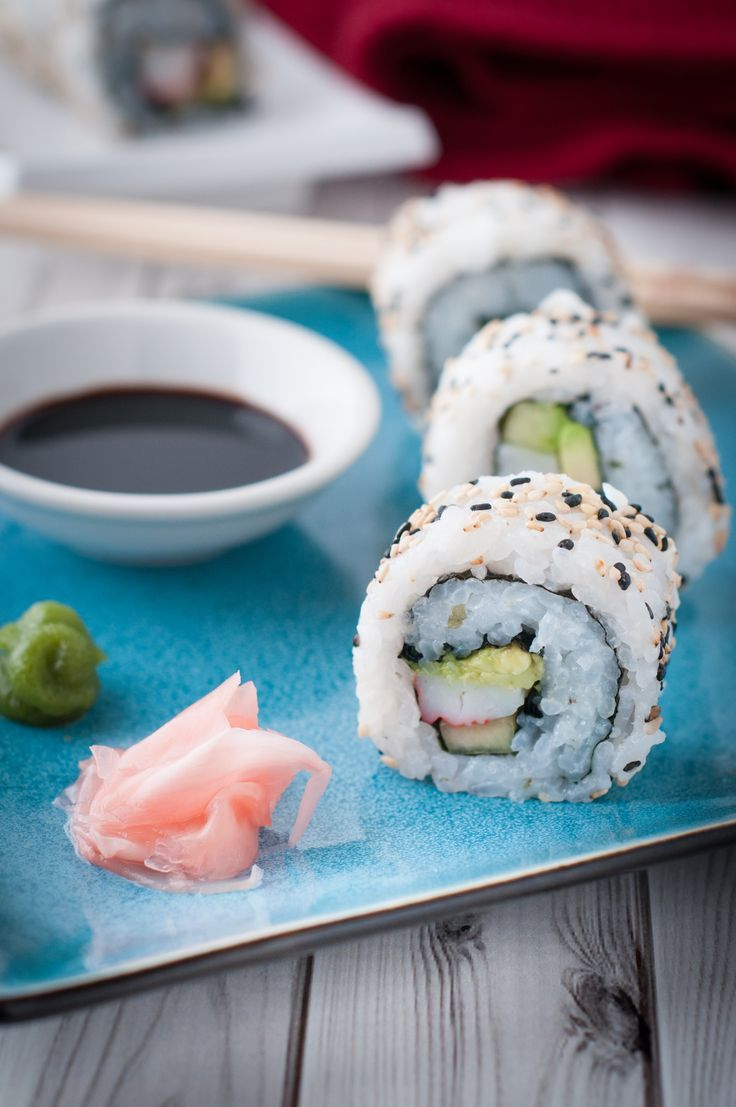 Most People Only Eat California Rolls At Restaurants Maybe Because They Look Hard To Make Re Not Give It A Try You Ll Be Pleasantly Surprised
