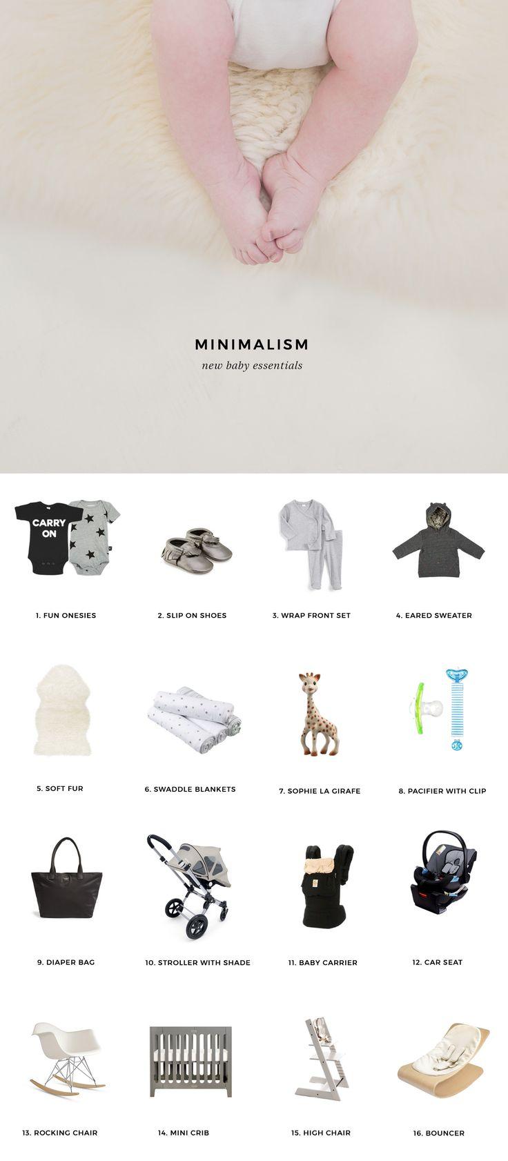 Minimalist Baby Essentials