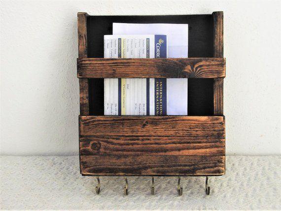 31++ Wood mail organizer wall mount info