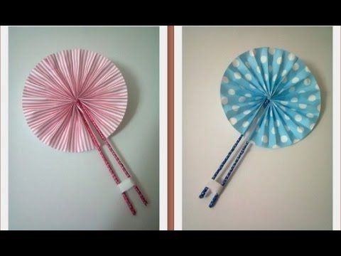 DIY : #8 Cute Hand Fan ♥