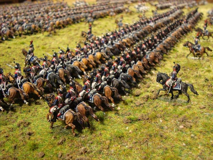 History in 1/72: Waterloo - the Cuirassier Brigade
