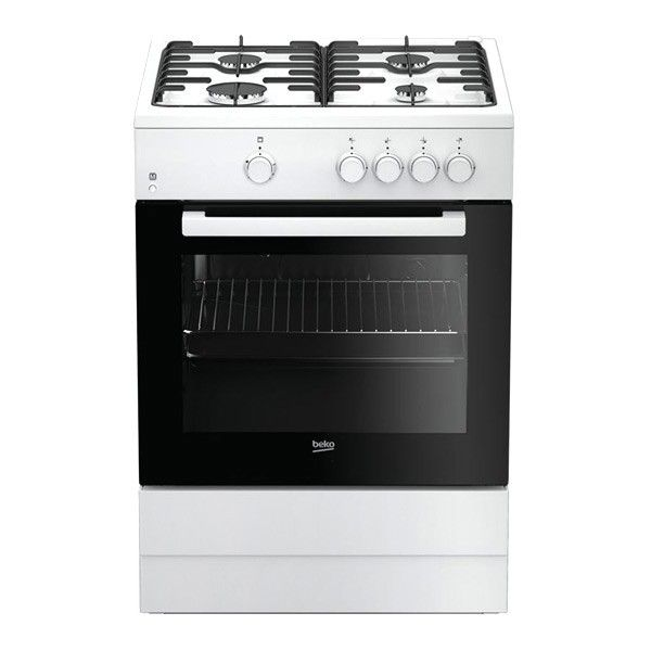 226,82 € Piano Cottura a Gas BEKO 218971 FSG62000DWL 64 L 60 cm in ...