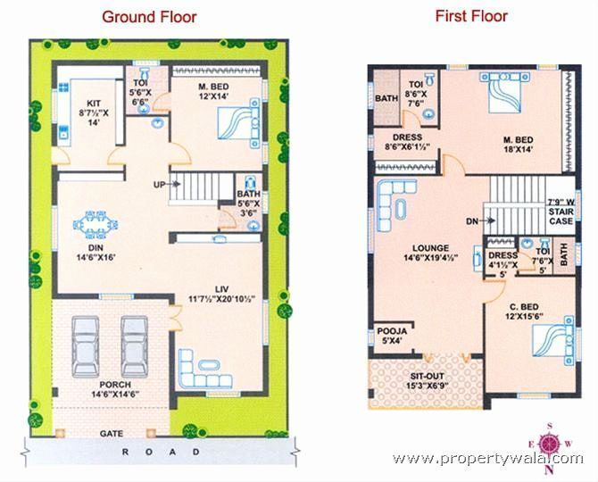 North Facing House Plans Elegant North Facing House Plan According Vastu J L Experience Pictures West Facing House North Facing House Indian House Plans