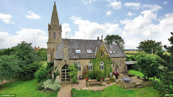Impressive property: Old Church House has been careful restored to keep the original stain...