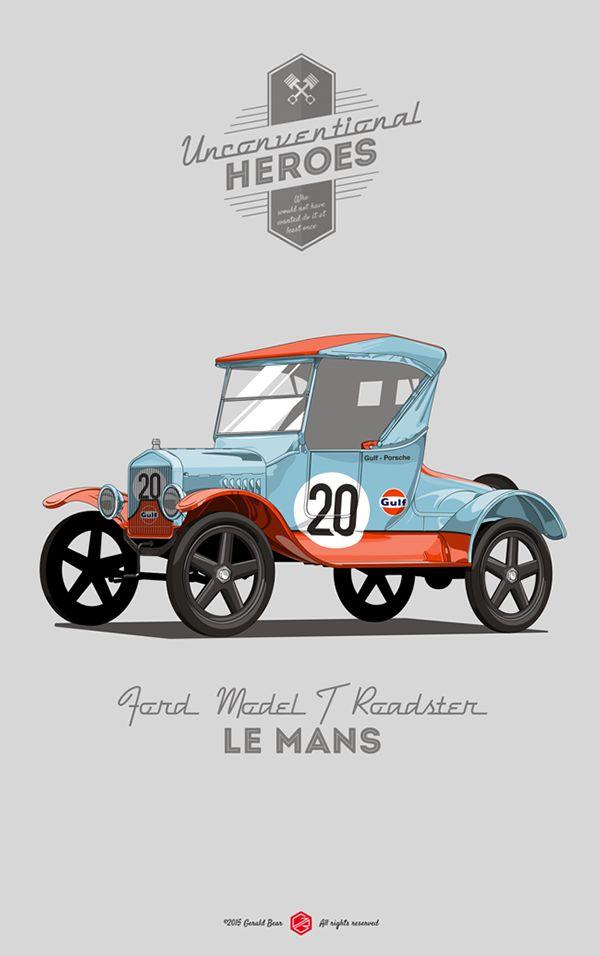 UnconventionalHeroes - Le Mans on Behance