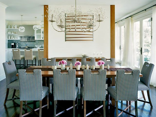 Die besten 25+ Striped dining chairs Ideen auf Pinterest - moderne esszimmermobel design ideen