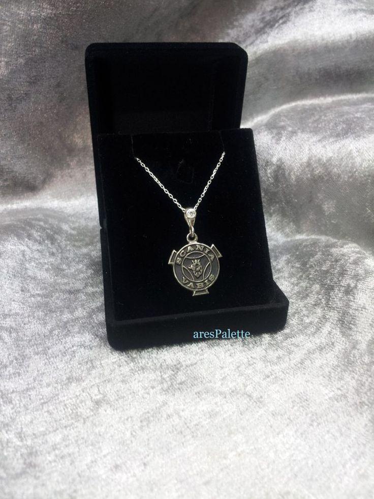 #carjewelry #scania #scaniavabis #silvernecklace #handmade  http://Scania Vabis Necklace-Handmade-925 Silver (Free International Standard Shipping)