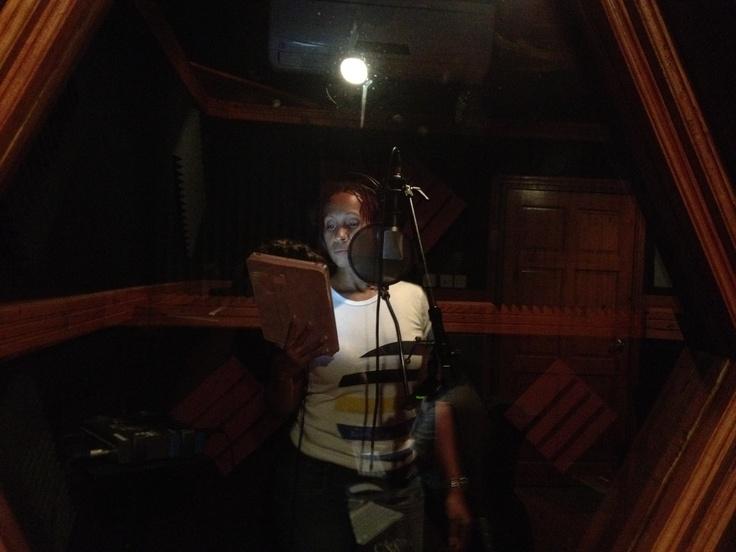 In the studio making new music!